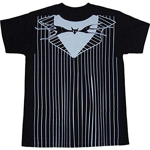 [Nightmare Before Christmas I Am Jack Costume T-Shirt-Large] (The Nightmare Before Christmas Costumes)