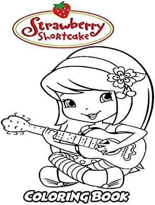 Strawberry Shortcake coloring pages | Print and Color.com | 400x304