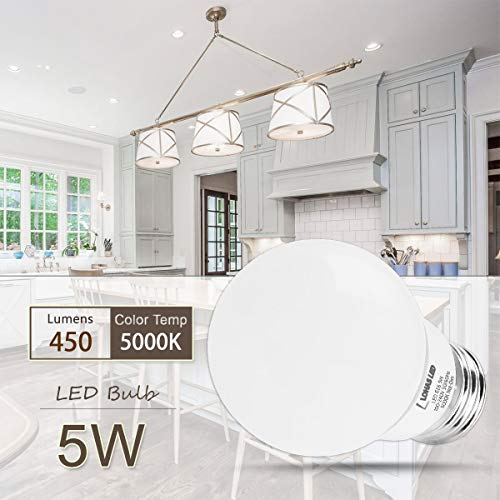 A15-LED-Bulb-LOHAS-LED-Light-Bulbs-40W-Equivalent5w-LEDs-Daylight5000K-Medium-BaseE26-450lm-Bright-LED-Lights-Not-Dimmable-LED-Lamps-for-RefrigeratorFreezer-Ceiling-Home-Lighting6Pack