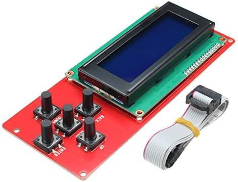ILS LCD2004 - Pantalla LCD para Impresora 3D, Color Blanco: Amazon ...