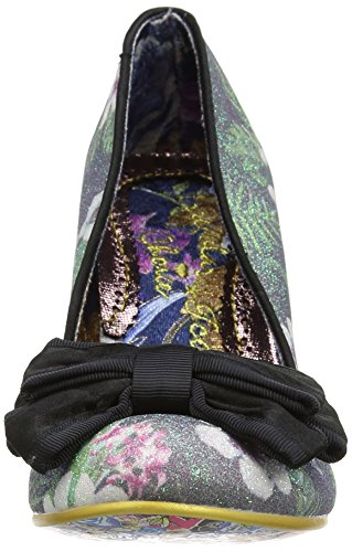 Irregular Tacco Col Donna Floral Ban Nero Scarpe black Joe Choice TrSTq6