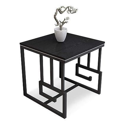Amazon.com: Xiaoyan - Mesa auxiliar pequeña cuadrada de ...