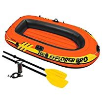 INTEX 58357 Barca Hinchable, Deportes y Aire Libre, 196 x 102 x 33 cm