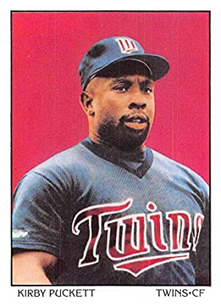 Amazon com: Baseball MLB 1990 Score #690 Kirby Puckett DT