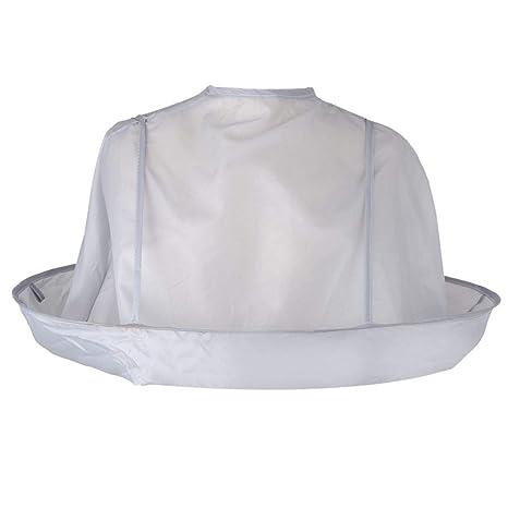 Topker Pelo Plegable Adulto Capa de Corte Paraguas Styling Salon Peluquero Impermeable del Pelo del Cabo