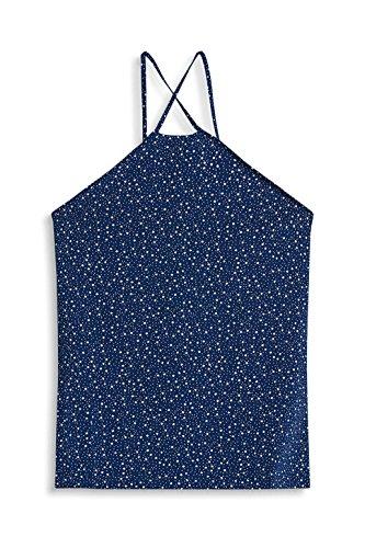 edc by Esprit, Camiseta sin Mangas para Mujer Azul (Ink 415)
