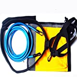 Bazaar Swimming Trainer Set Traction Resistance Swim Training Device + Water Pocket + Mesh Bag
