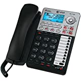 ATT 17939 2-Line Corded Speakerphone with Caller ID & Digital Answering System PET2