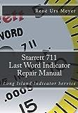 Starrett 711 Last Word Indicator Repair Manual: Long Island Indicator Service