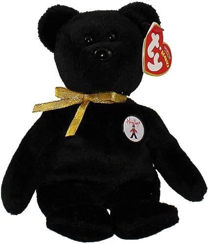 TY HAMLEY the BEAR BEANIE BABY HAMLEY/'S EXCLUSIVE