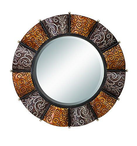 Deco 79 Heavily Discounted Metal Mirror