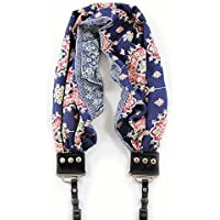 Bluebell Scarf Camera Strap; NEW; Beautiful & Comfortable; Stylish Americana