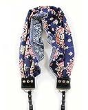 Bluebell Scarf Camera Strap; NEW; Beautiful & Comfortable; Stylish Americana