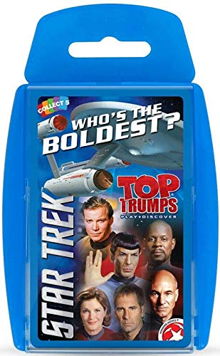 TOP Trumps - Star Trek! Perfect Indoors, Travelling, Camping Holidays by Top Trumps