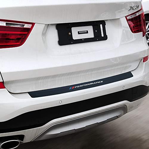 New M Performance Rubber Rear Bumper Guard Plate Protector Sticker For bmw X3 e83 f25 X4 X5 e53 e70 f15 g05 X6 e71 f16 e39 e46 e90 f30 f10 f20 f32 (Big Size for BMW x3 x4 x5 x6 x7 Series)