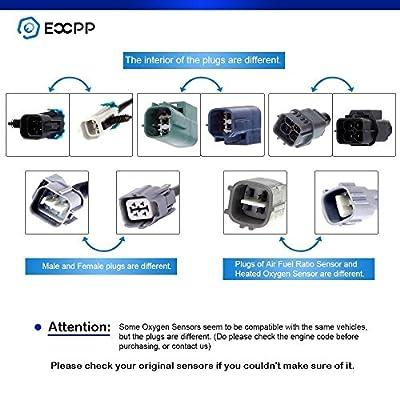 Oxygen Sensor,ECCPP Downstream 24568 4 Wires Rear O2 Sensor for 2000-2004 Toyota Tacoma 2.7L 3.4L: Automotive
