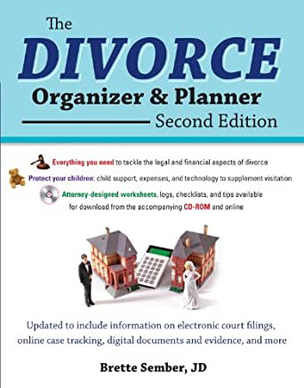 Amazon.com: The Divorce Organizer and Planner, 2nd Edition eBook ...