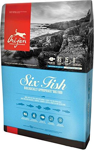 Orijen Six Fish Dog Food, 25-Pound Bag (Orijen 6 Fish Dog Food)