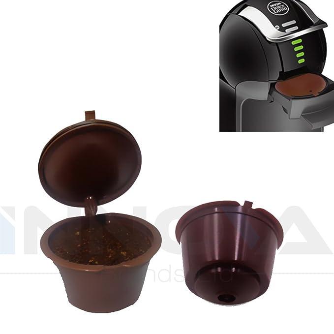 Innova® Reutilizable para filtros de cápsulas de café Dolce ...
