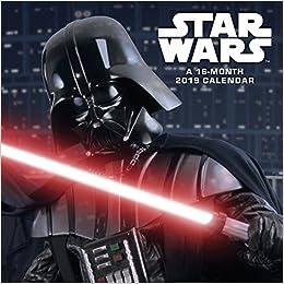 Star Wars 2019 Calendar: Trends International: 0057668894540: Books