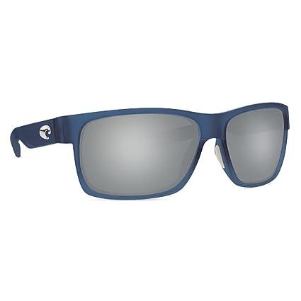 21126ec74c3 Image Unavailable. Image not available for. Color  Costa Del Mar Costa Del  Mar HFM193OGP Half Moon Gray 580P Bahama Blue Fade Frame Half