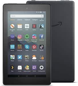 Tablet Fire 7, pantalla de 7, 16 GB (Negro) - Con publicidad: Amazon.es