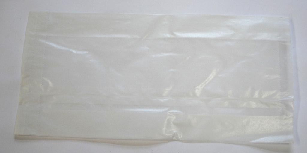 Pergaminbeutel mit Seitenfalte 140x60x280mm 1000 St.