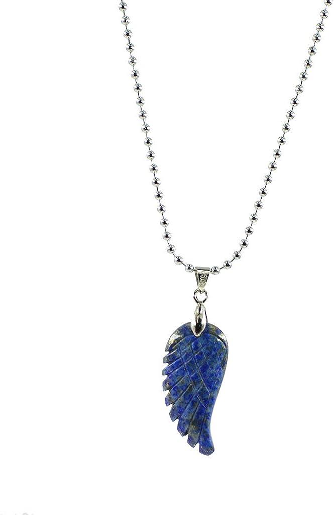 MagiDeal Collar Colgante Piedras Preciosas Diseño de Ángulo Joyería de Regalo