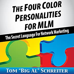 The Four Color Personalities for MLM Audiobook