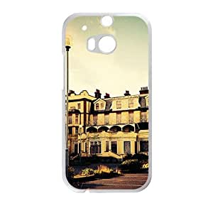 Personalized Creative Cell Phone Case For HTC M8,deseted building