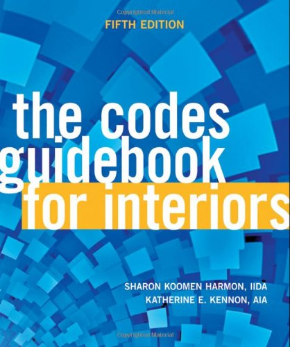 The Codes Guidebook For Interiors Fifth Edition