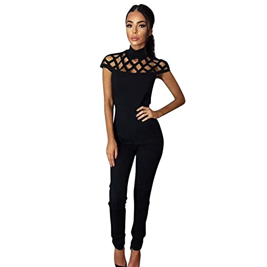 81c3059ee9 Amazon.com  Caopixx Women Jumpsuit