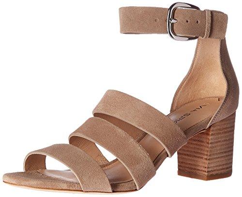 Heeled Heel Spiga Block Carys Women's Sandal Suede Via Straw 1wSIUXU