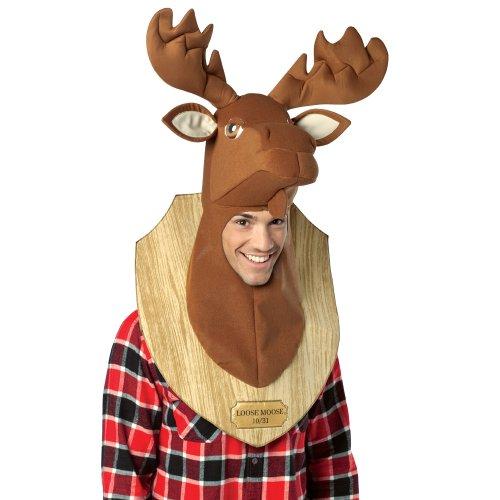 Rasta Imposta Loose Moose Adult Trophy Head,Multi,One Size -