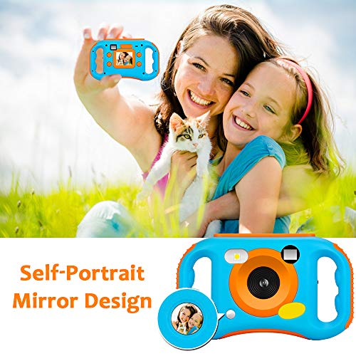 iBosi Cheng WiFi Kids Camera, 1080P HD Digital Anti-Drop Children Camera Camcorders with 1.77 Inch LCD Display,5X Digital Zoom,Flash and Mic, 16GB TF Card Included,Creative Birthday Gifts for Kids by iBosi Cheng (Image #1)