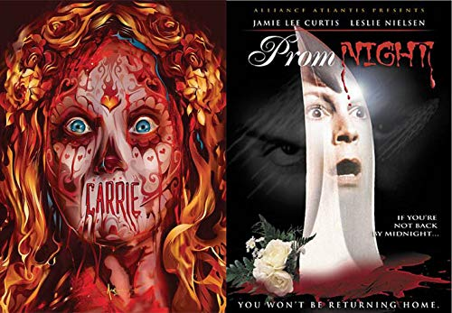 When Proms Go Horribly Wrong: Carrie (Special Halloween Limited Edition Slip Cover) & Prom Night (Double Horror Feature Film Pack) ()