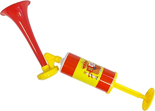Acan Kit de bocina y Trompeta Bandera de España: Amazon.es: Hogar