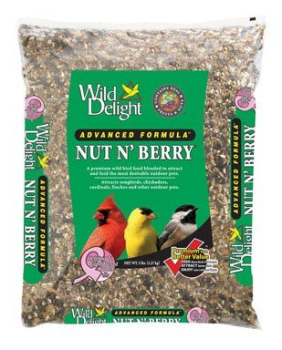 Wild Delight 366050 5 Lb Nut N' Berry Bird Food