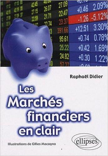 En ligne Les marchés financiers en clair epub, pdf