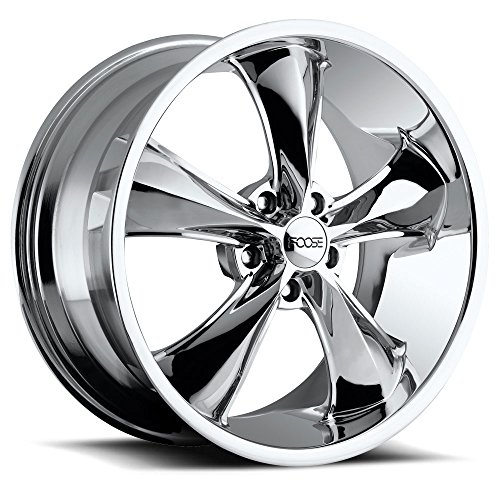 Foose Legend 20 Chrome Wheel / Rim 5x4.5 with a 32mm Offset and a 70.70 Hub Bore. Partnumber F105208565+32 ()