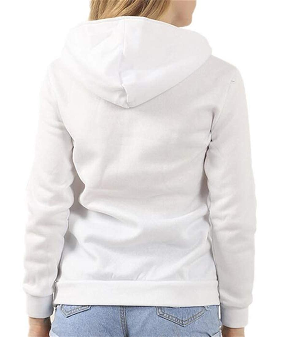 Hajotrawa Womens Autumn Sports Pullover Top Oblique Zip Sweatshirts Hoodie