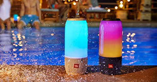 JBL Pulse 3 Wireless Bluetooth IPX7 Waterproof Speaker (Black) by JBL (Image #5)