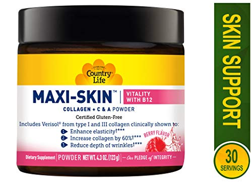 Maxi Skin Vitality with B12 Powder, 0.19 Pound