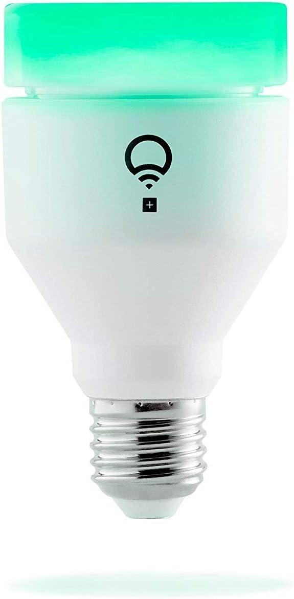 LIFX LHA19E27UC10P + Ampoule intelligente, culot à vis Edison E27, Plastique, 11...