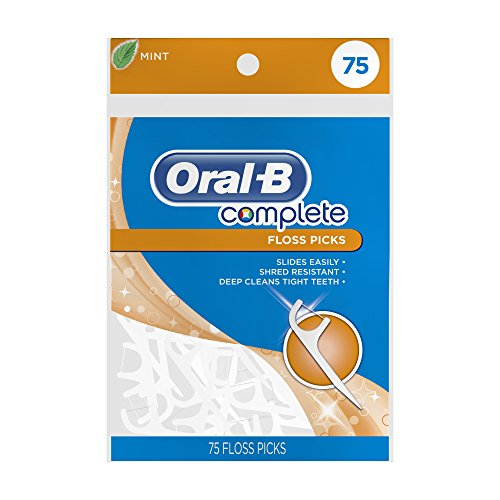 Oral-B Complete Mint Flavored Floss Picks, 75 count -  PROCTER & GAMBLE CONSUMER, 300410101299