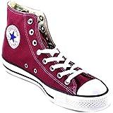Converse Chuck Taylor All Star Core Hi - Botines de lona unisex, color rojo (maroon), talla 46