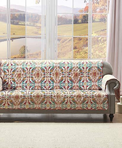 Greenland Home Joanna's Garden Slipcover, Sofa, White from Greenland Home