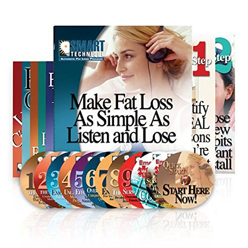 Smart Technique Automatic Fat Loss Program -- Make Fat Loss Automatic in Just 30 Minutes a Day -- Step 1 Book, Step 2 Book, 12 CDs, 6 Books [Repeat Offender, Victims of Circumstance, The Foodaholic, The Rationalizer, The Emotional Eater, The SMART Acceler by Smart Technique