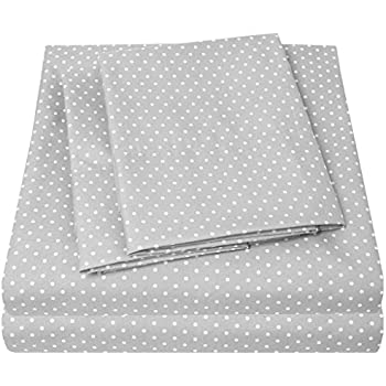 ... Bed Sheets   PREMIUM QUALITY BED SHEET SET U0026 LOW PRICE, SINCE 2012    Deep Pocket Wrinkle Free Hypoallergenic Bedding   4 Piece Sheets   POLKA DOT  PRINT  ...