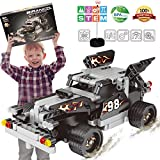 BIRANCO. RC Racer Building Kit, Educational STEM Construction Vehicle Blocks Set 6, 7, 8 9+ Years Old Boys | Best Birthday Toy Car Gifts Kids